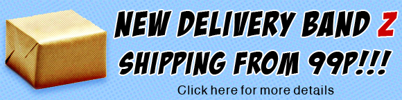 New Delivery Band Z Shipping from 99p Click for more details