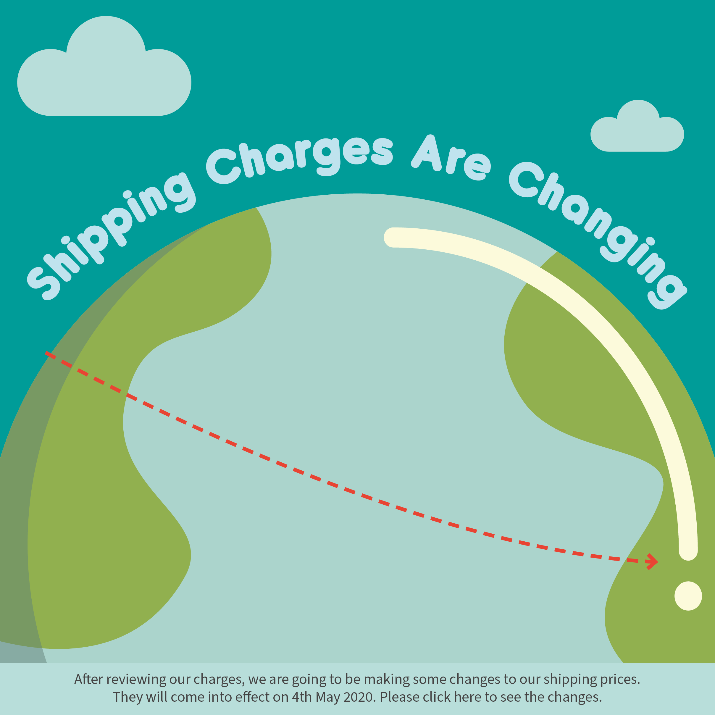 Shipping Charges are Changing